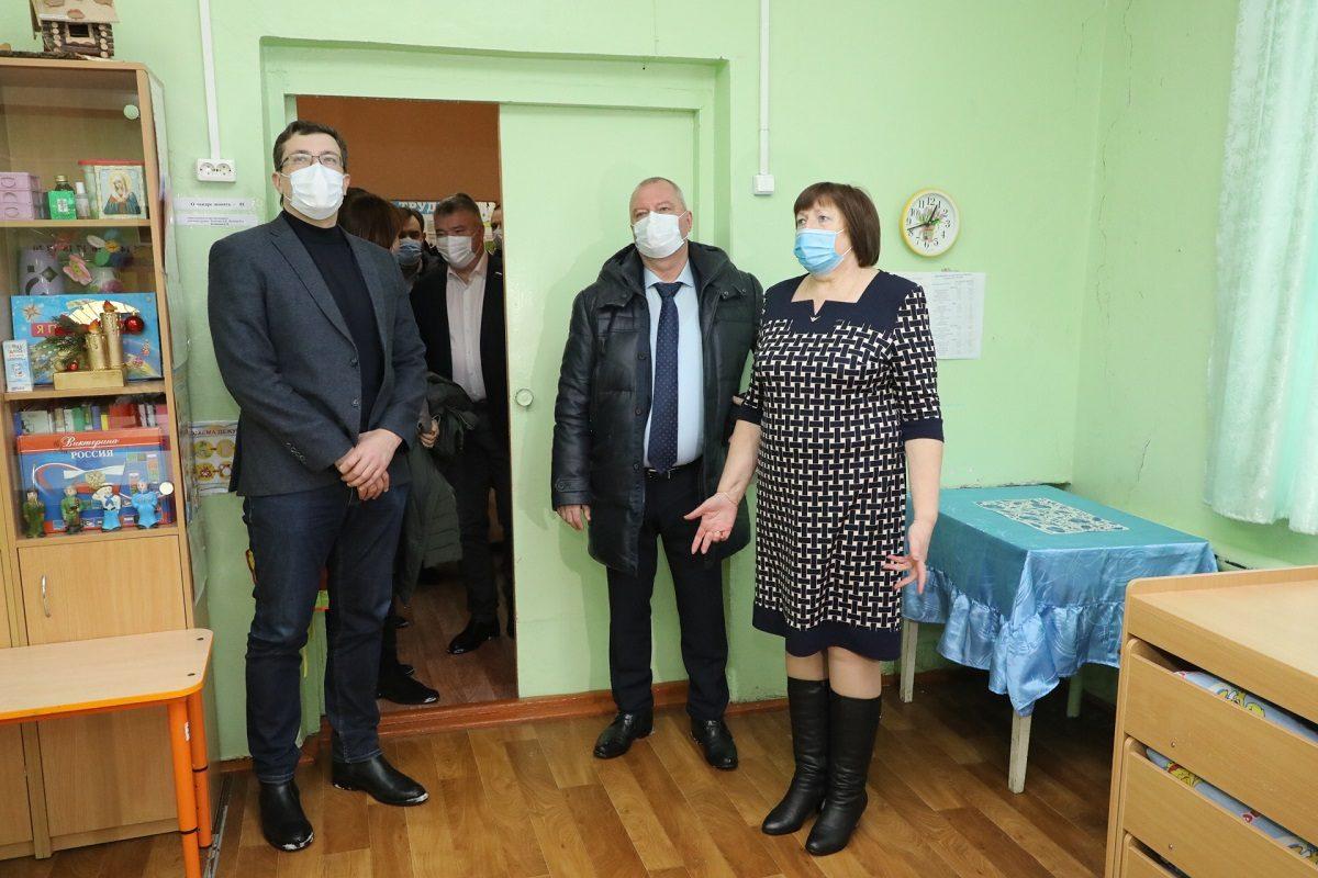 Глеб Никитин: «ВКовернино будет построен новый детский сад»