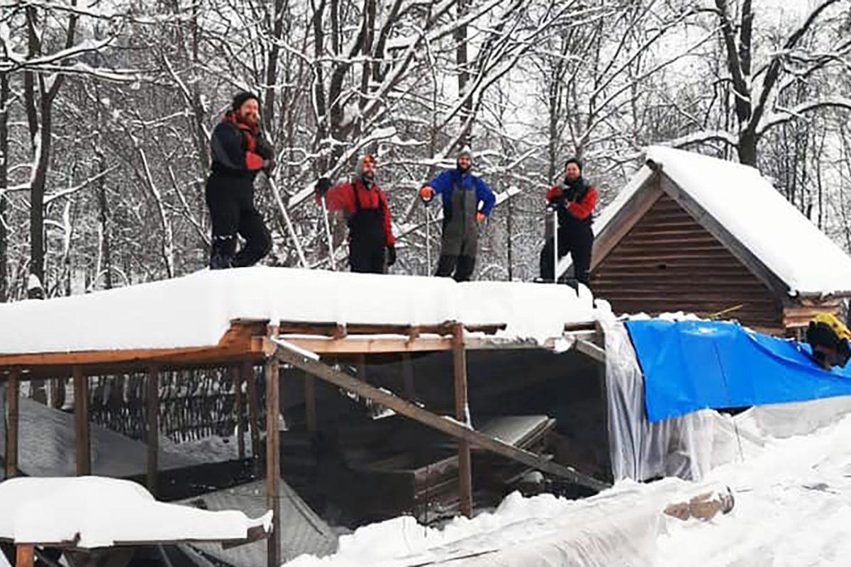 Реставрацию дома Павловой возобновили на Щелоковском хуторе