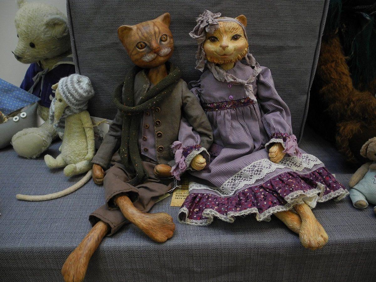 игрушки куклы выставка