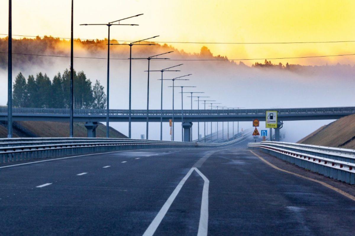 Скоростная автомобильная дорога Москва – Санкт-Петербург