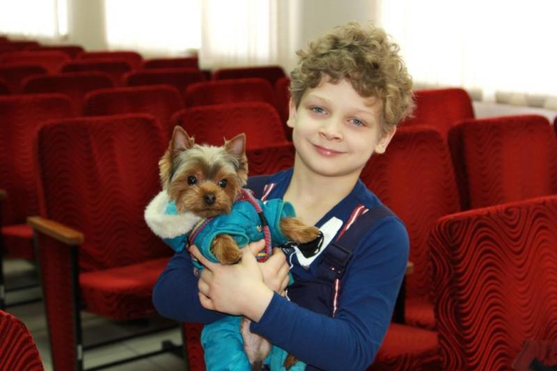 Нижегородские полицейские вернули ребёнку похищенного щенка