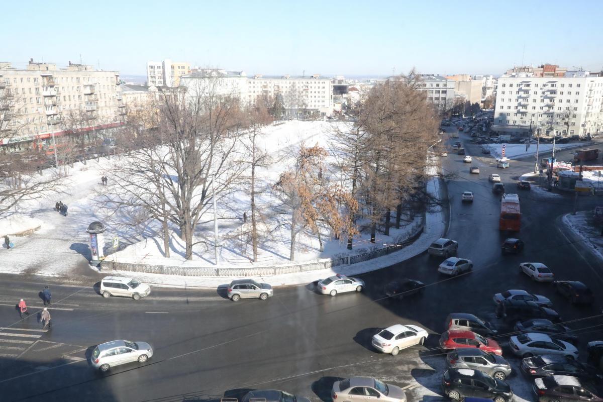 Парковку автомобилей ограничат на площади Максима Горького в Нижнем Новгороде