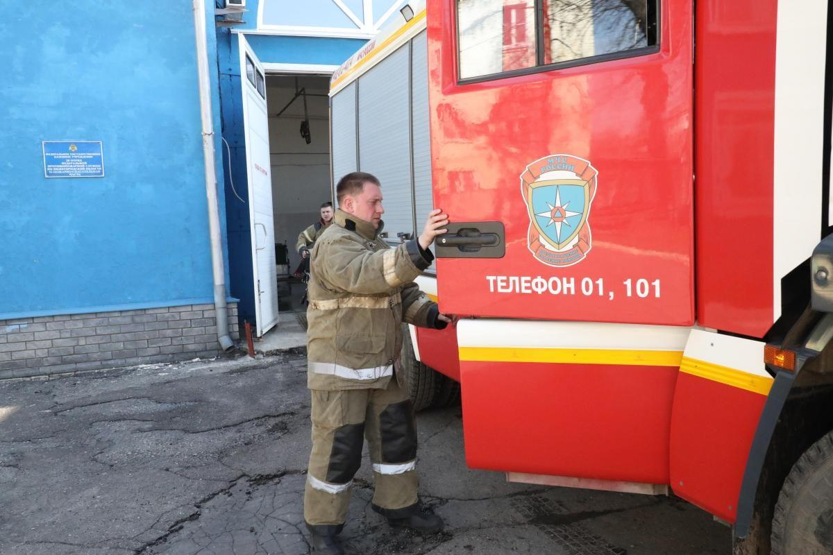 Человек погиб на пожаре в поселке Большое Козино Балахнинского района