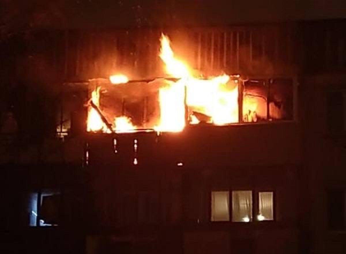 Новогодний салют закончился пожаром в Нижнем Новгороде