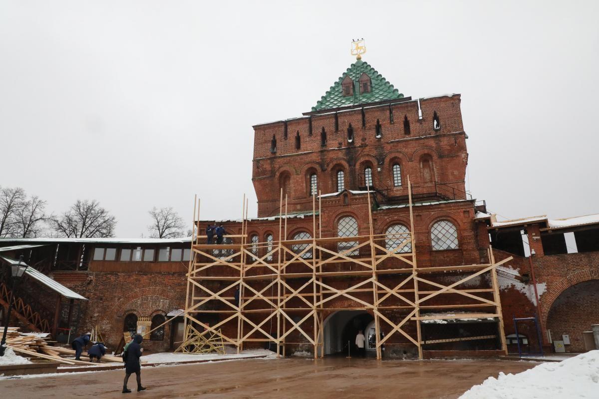 Экскурсионный маршрут в Нижегородском кремле станет самым длинным среди маршрутов внутри стен российских кремлей