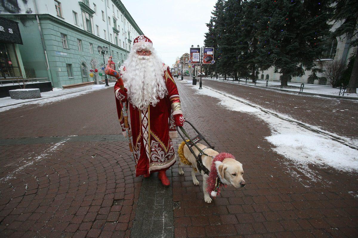 «Особенный» Дед Мороз: незрячий герой из Городца мечтает о резиденции для детей с инвалидностью