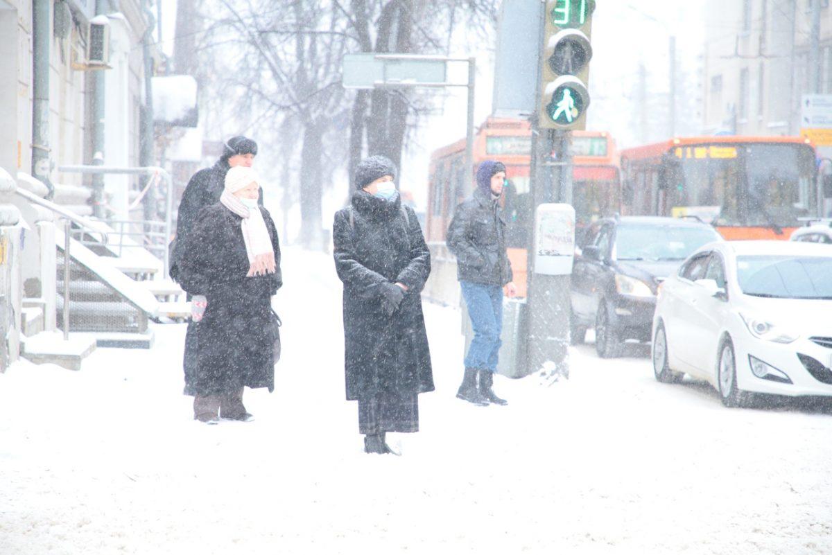 Снежная и морозная неделя ждет нижегородцев