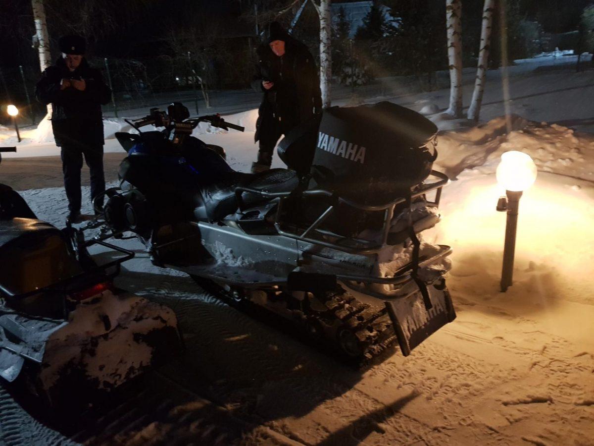 Снегоход насмерть задавил пешехода на трассе Богородск-Куликово
