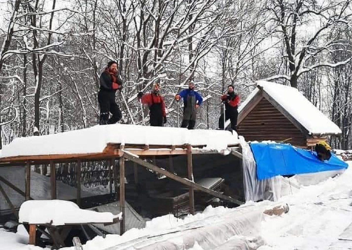 Субботник по уборке снега пройдёт на Щелоковском хуторе