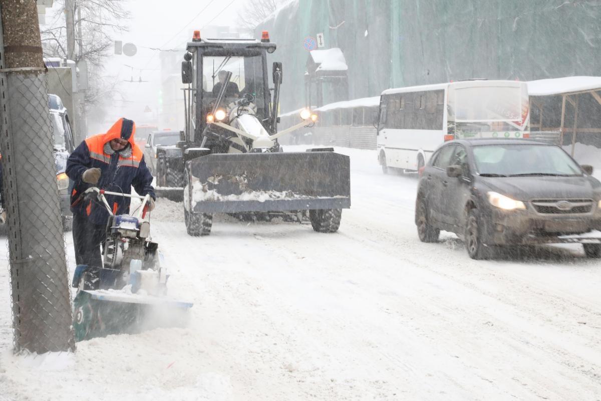 50 машин спецтехники выделили на расчистку федеральных трасс в Нижегородской области