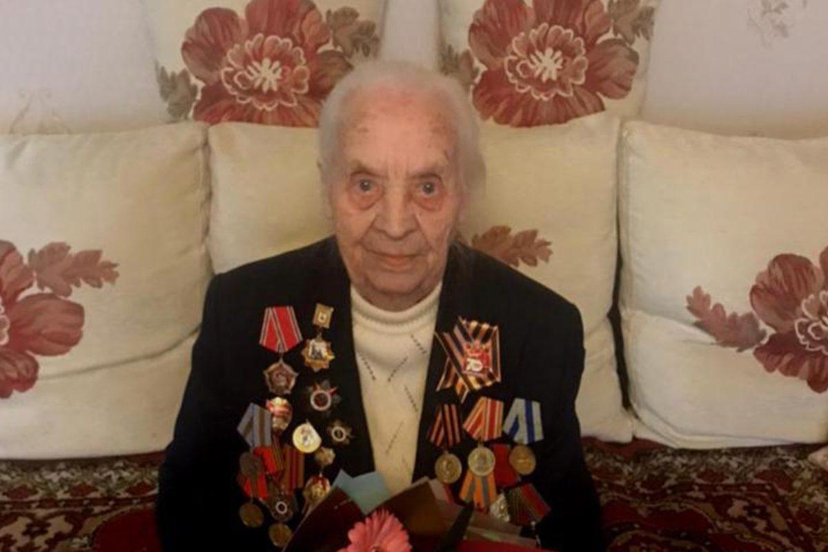 Участница парада Победы 1945 года отметила своё 99-летие