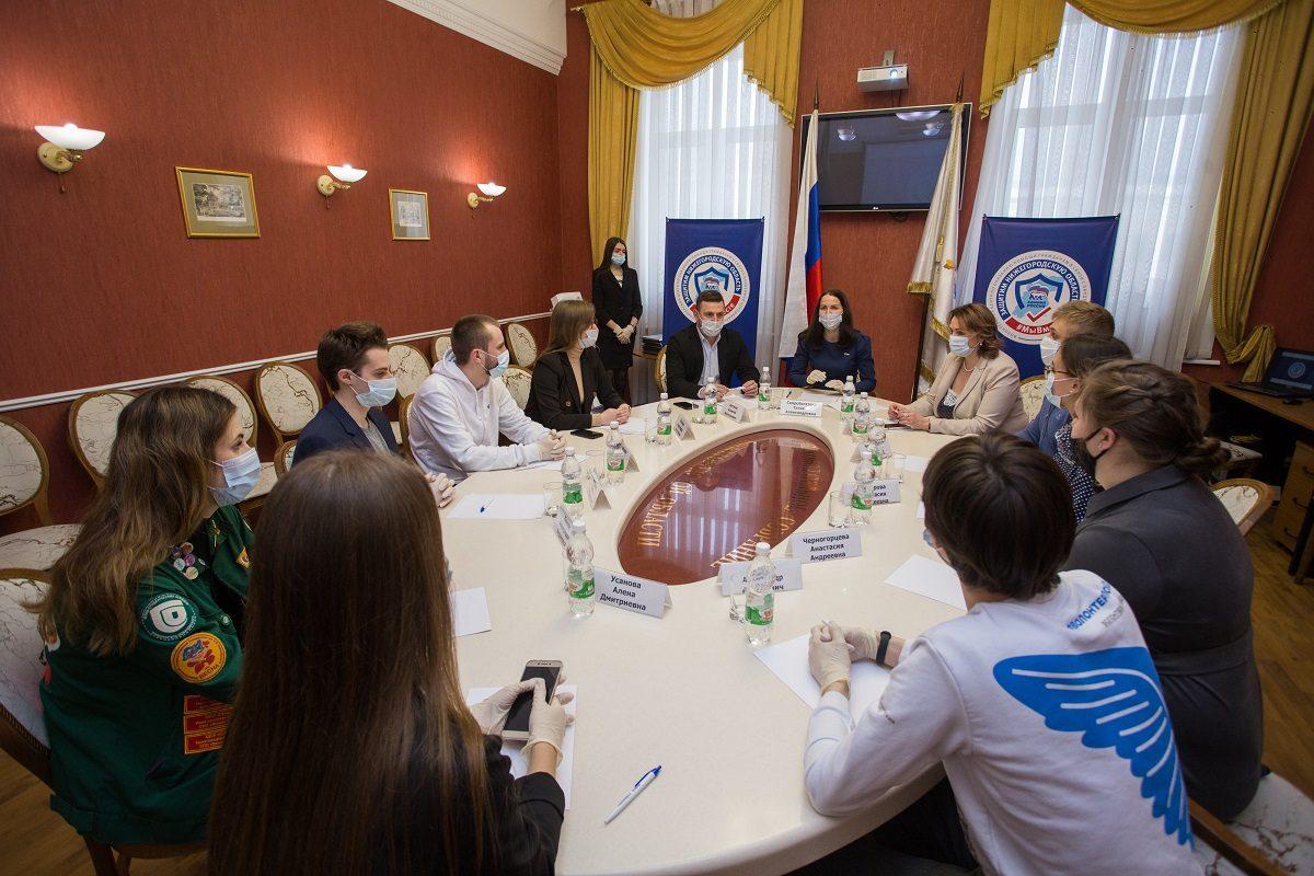 В Нижнем Новгороде волонтеров-студентов поблагодарили за работу