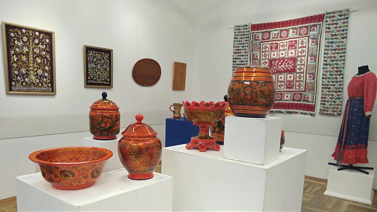 выставка посуда