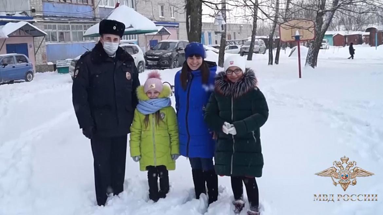 Арзамасского полицейского наградили за спасение людей на пожаре