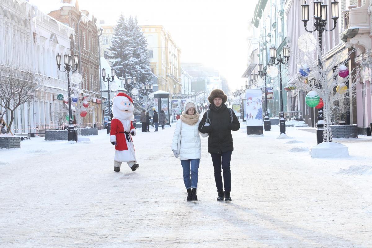 Аномальные морозы пришли в Нижегородскую область