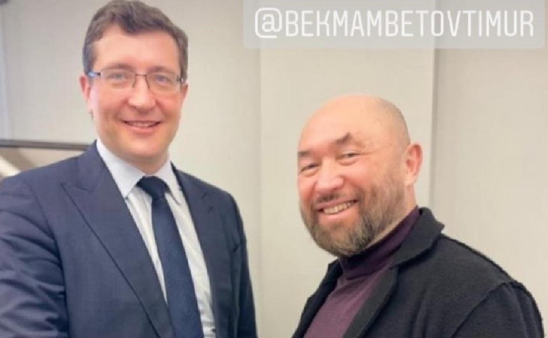 Губернатор Глеб Никитин договорился о проведении спектакля Тимура Бекмамбетова «Ходжа Насреддин» в Нижнем Новгороде