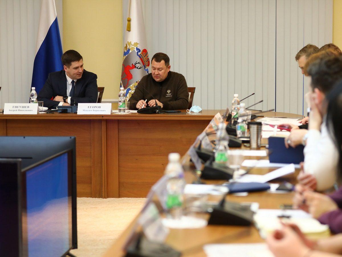 Замминистра строительства иЖКХРФ Максим Егоров оценил ход подготовки кзапуску платформы для голосования попроекту ФКГС вНижегородской области