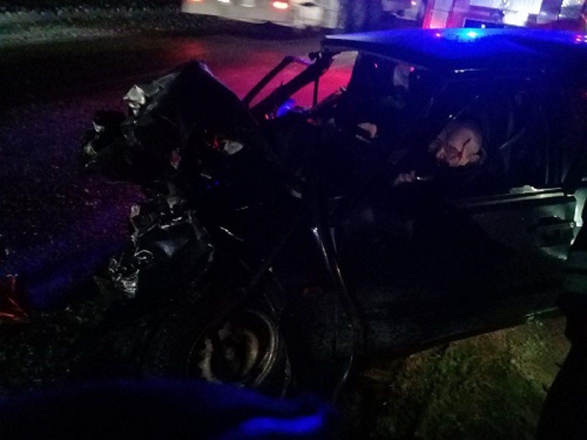 Человек погиб в ночном ДТП на трассе М-7 в Лысковском районе