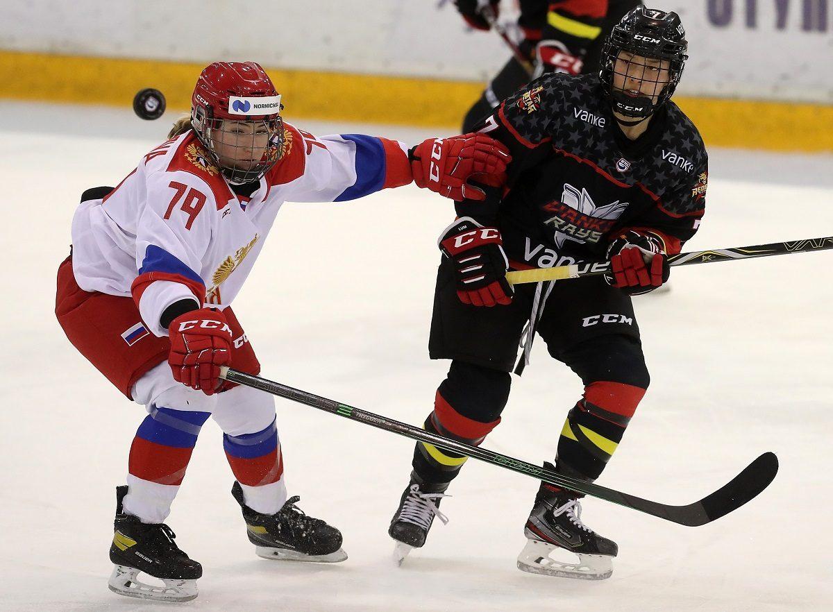 Нижегородские хоккеистки успешно сыграли за сборную России