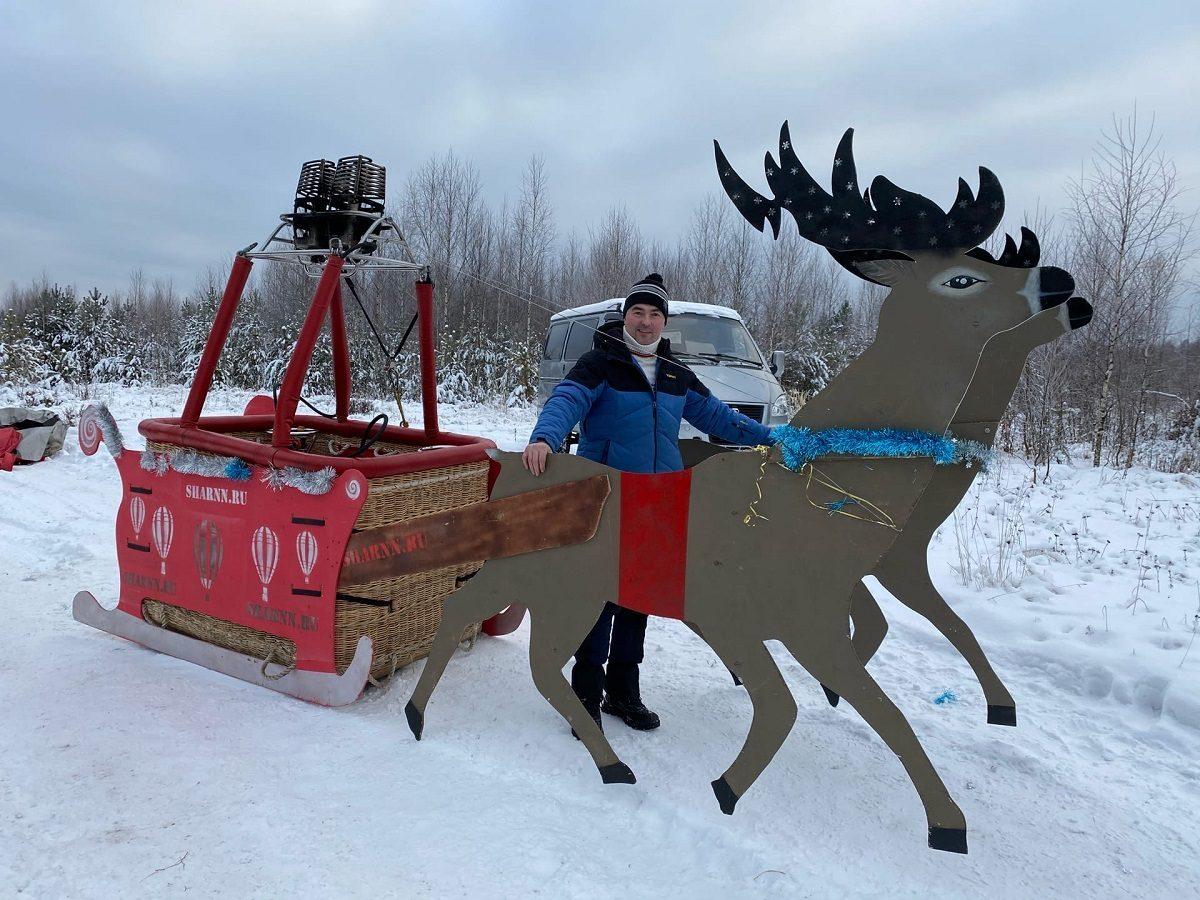 Георгий Зименко: «Полёты зимой более удобны для пилота и комфортны для аэростата»