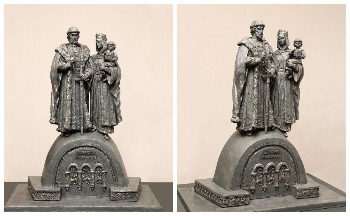 Нижегородцы выбрали эскиз памятника князю Дмитрию Донскому и его жене Ефросинии