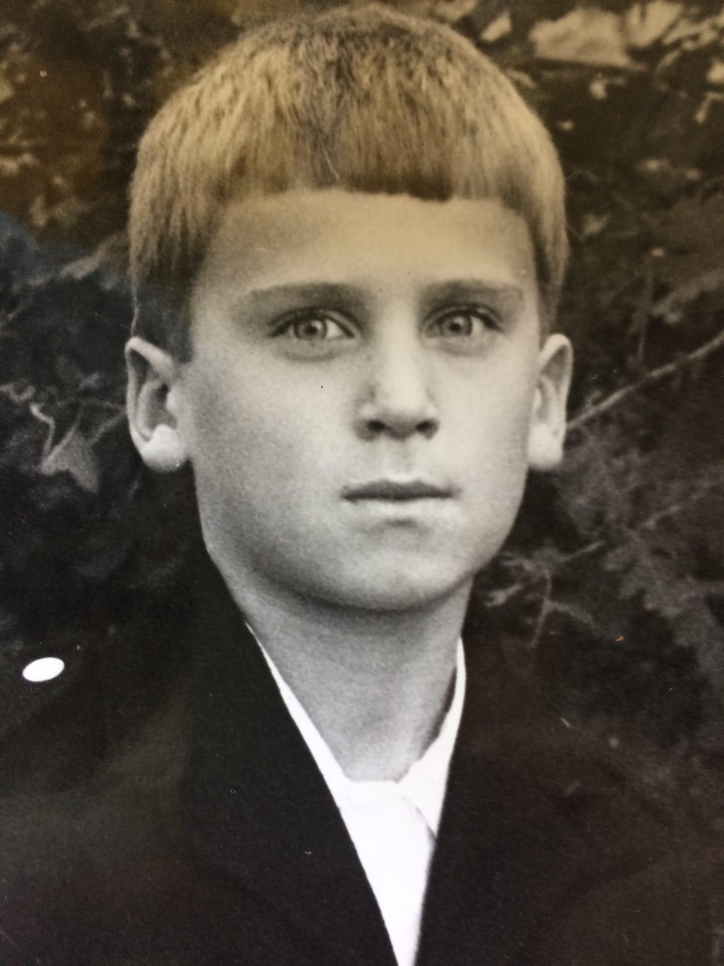 Игорь Авров в детстве