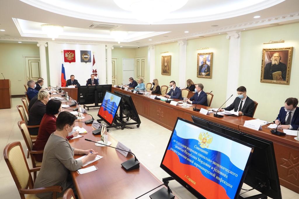 Представитель Президента РФ в ПФО Игорь Комаров с рабочей поездкой посетил Республику Мордовия