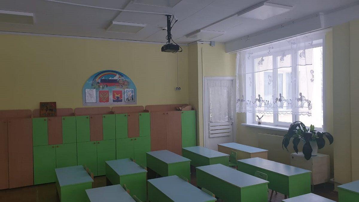 Детский сад на 180 мест и школу на 295 мест отремонтировали вГородецком районе