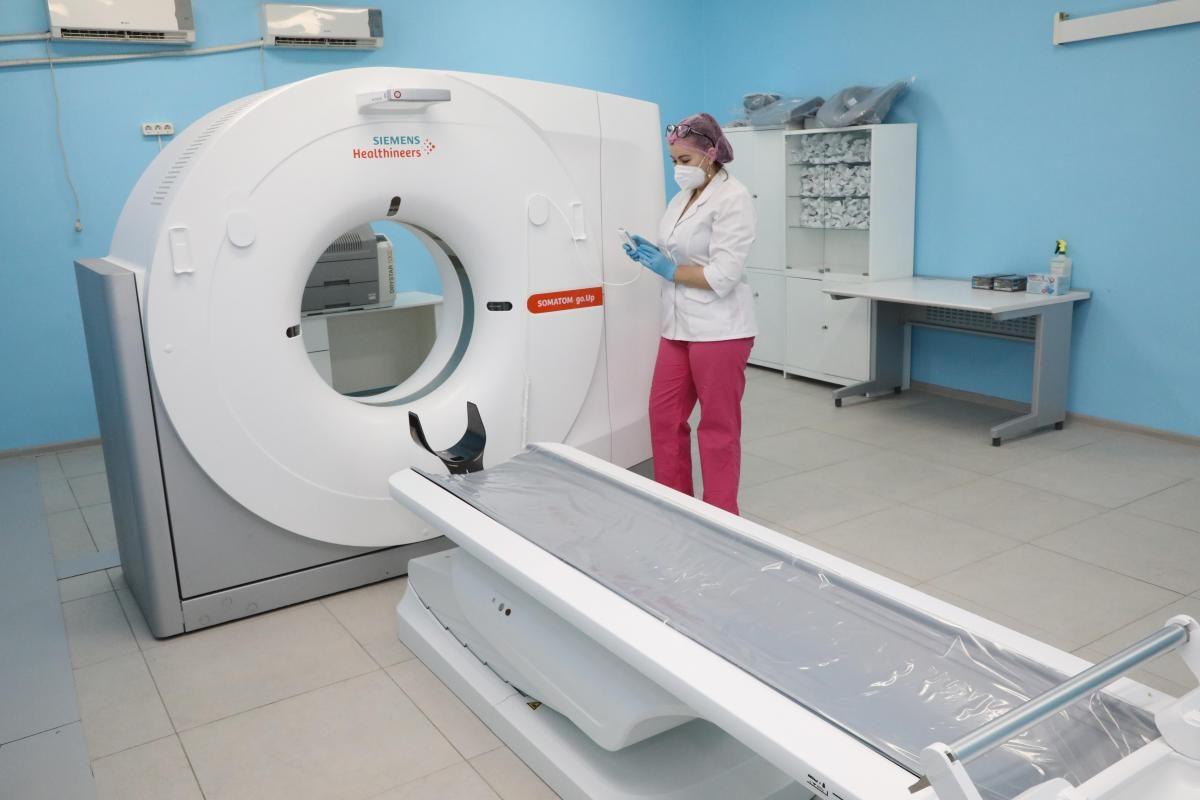 Количество КТ-обследований пациентов сCOVID-19 вНижегородской области снижается