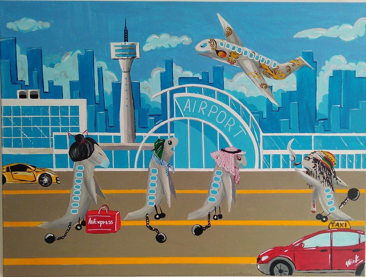От котиков до космоса: домохозяйки и профессиональные художники представили свои работы на выставке «Свобода творчества» в Нижнем Новгороде