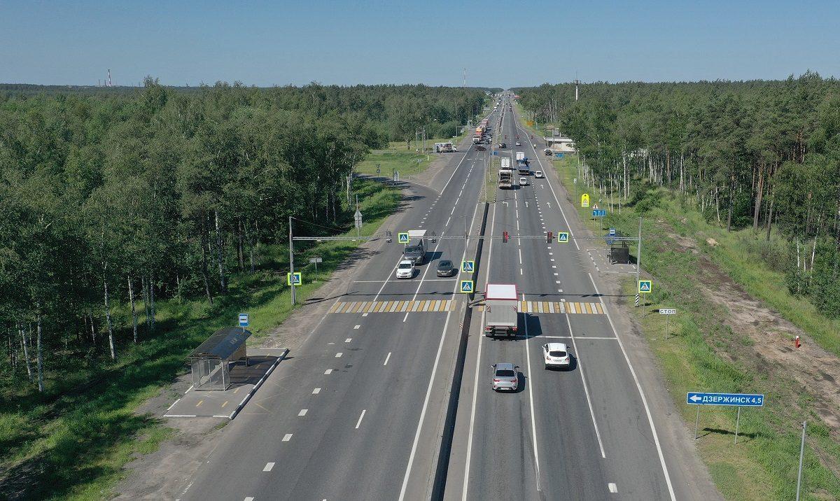 Левый поворот из Дзержинска на Москву закрыли на трассе М-7