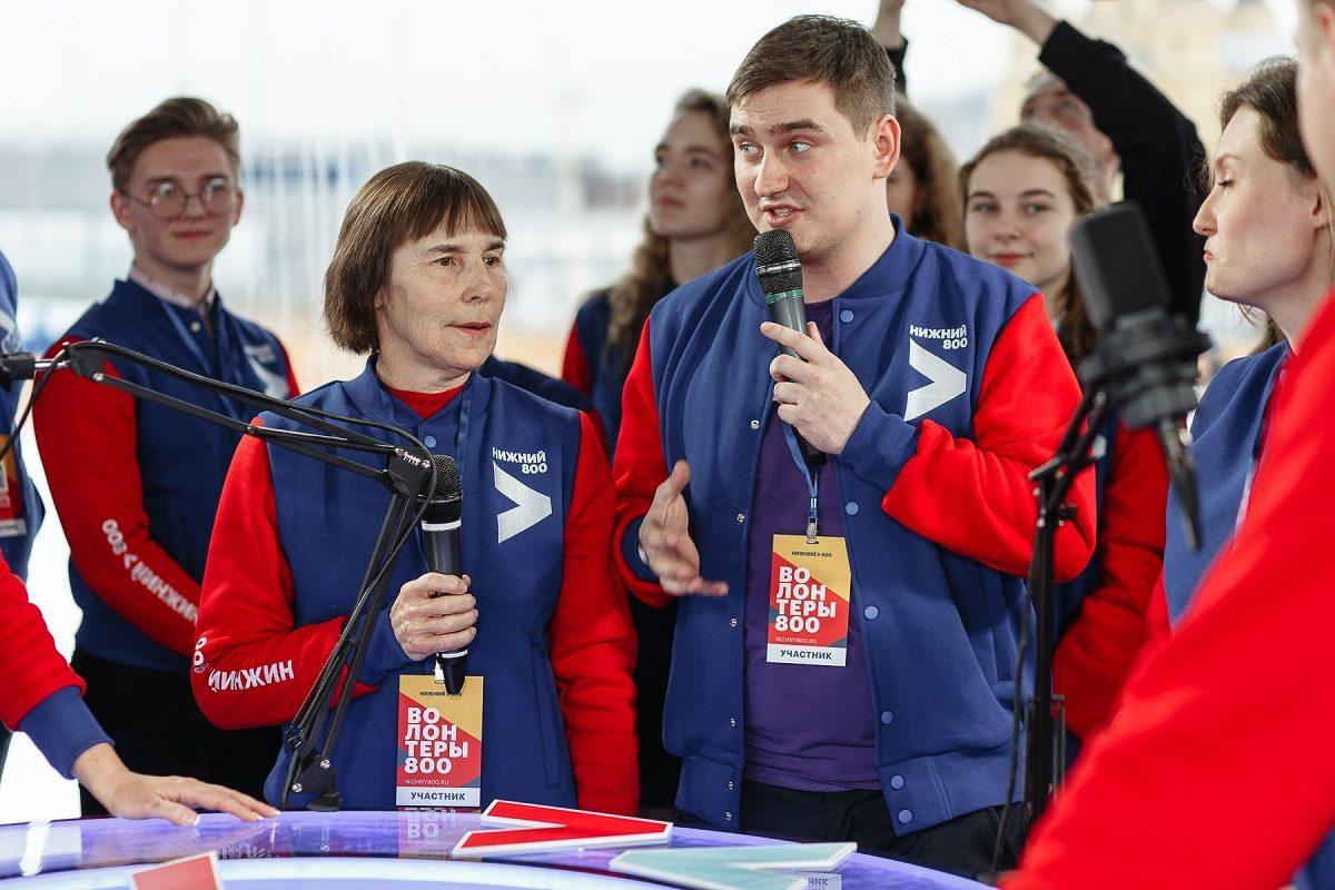 Нижегородские пенсионеры начали записываться в«Волонтёры 800»