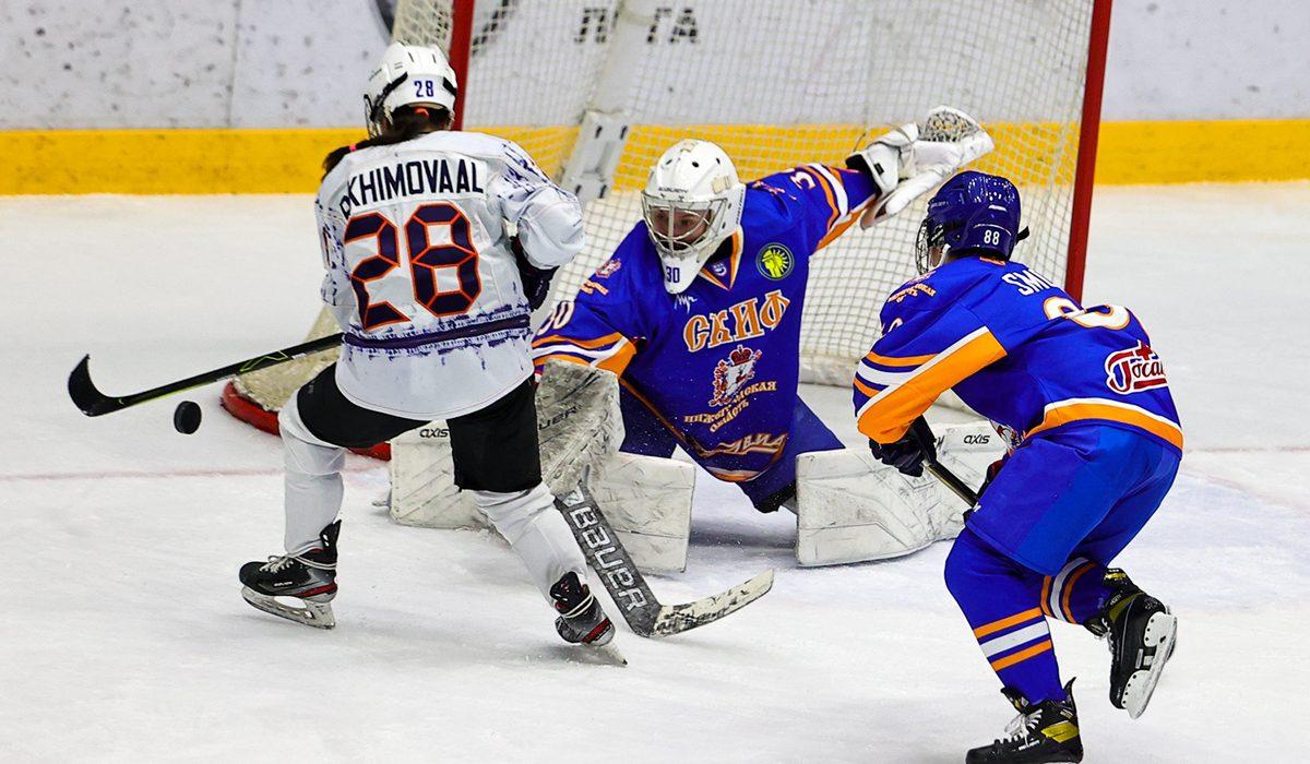 Хоккеисткам «СКИФа» хватило одного гола для победы над командой из Санкт-Петербурга
