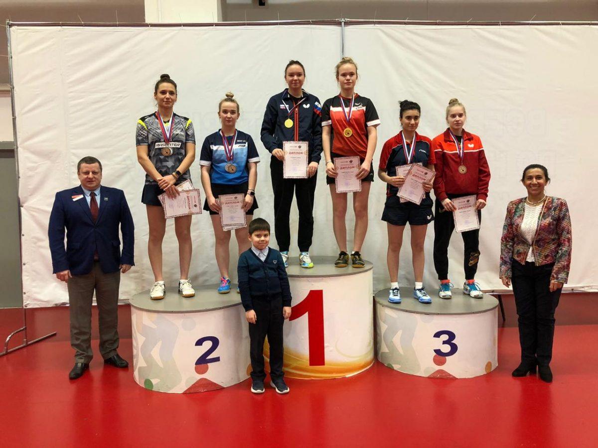 Нижегородские спортсмены выиграли семь золотых медалей на Чемпионате ПФО по настольному теннису