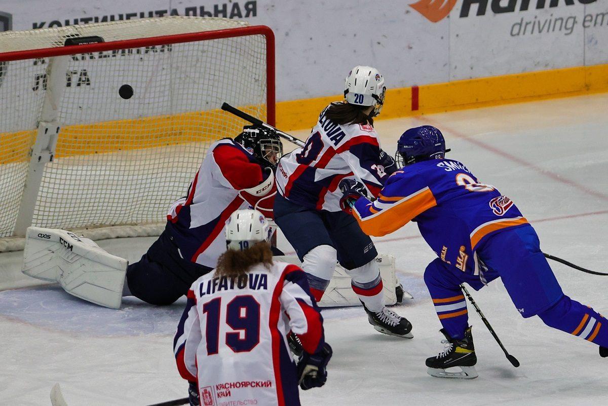 Нижегородский «СКИФ» обыграл хоккеисток красноярской «Бирюсы»