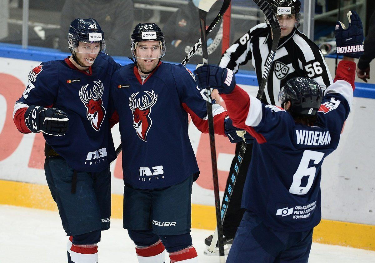 Хоккеисты «Торпедо» одержали волевую победу над «Витязем»