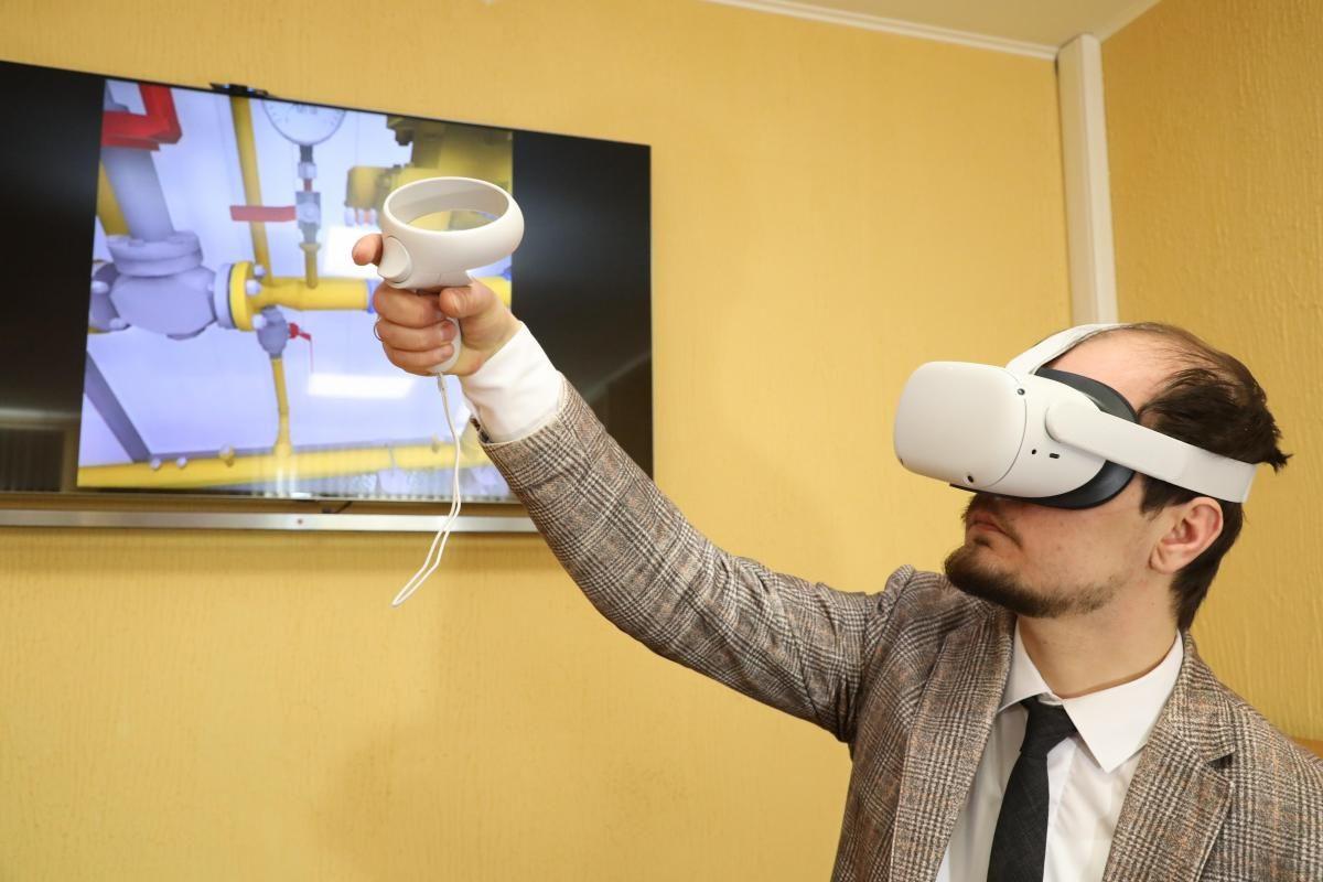 VR-тренажер для сотрудников водоканала разработан вНижегородской области