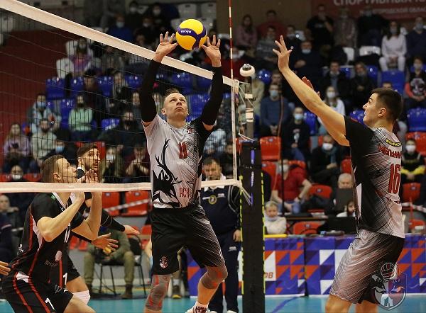 Волейболисты «АСК» одержали восьмую победу подряд