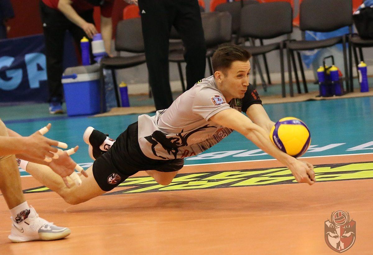 Волейболисты нижегородского «АСК» впервые проиграли в этом году
