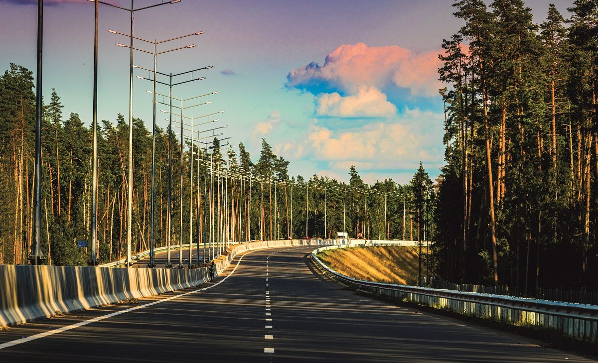 Цифровая система помогает строить дороги