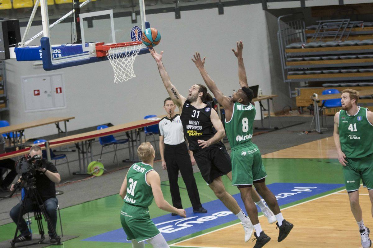Баскетболисты «Нижнего Новгорода» одержали победу в Польше