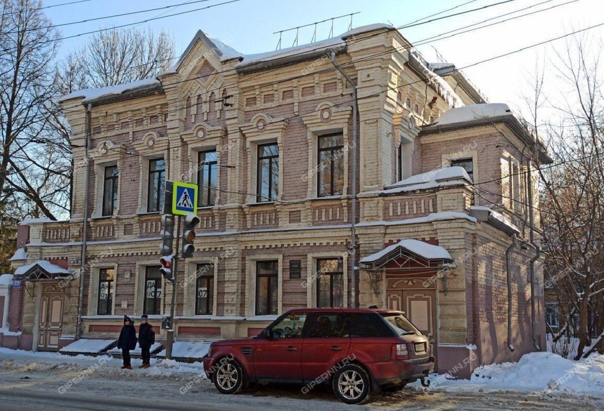 Здание XIX века «Дом П.Ф. Ляпунова» в Нижнем Новгороде продают под офисы