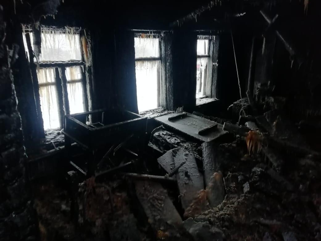Нижегородец и его трёхлетний племянник погибли на пожаре
