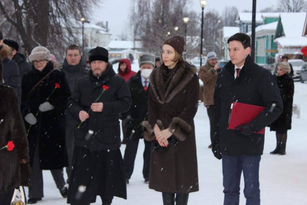 ВГородце стартовало празднование 800-летия Александра Невского