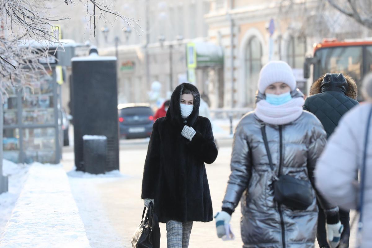 Мороз и солнце ждут нижегородцев на новой рабочей неделе