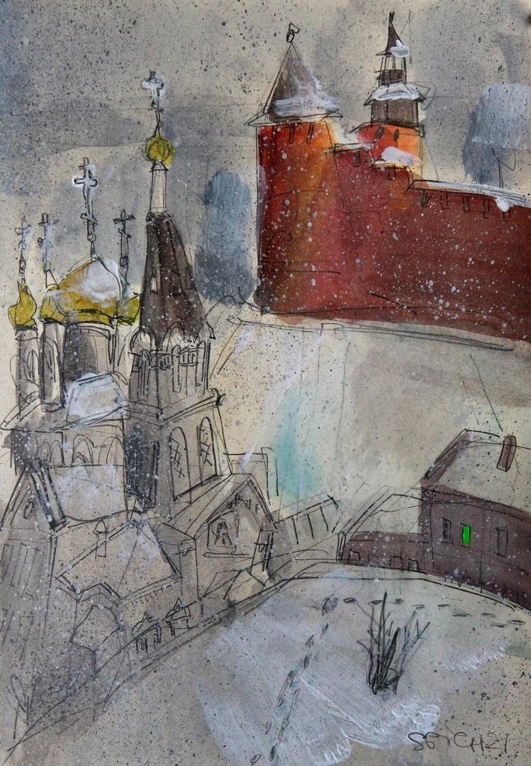 илья спиченков кремль храм