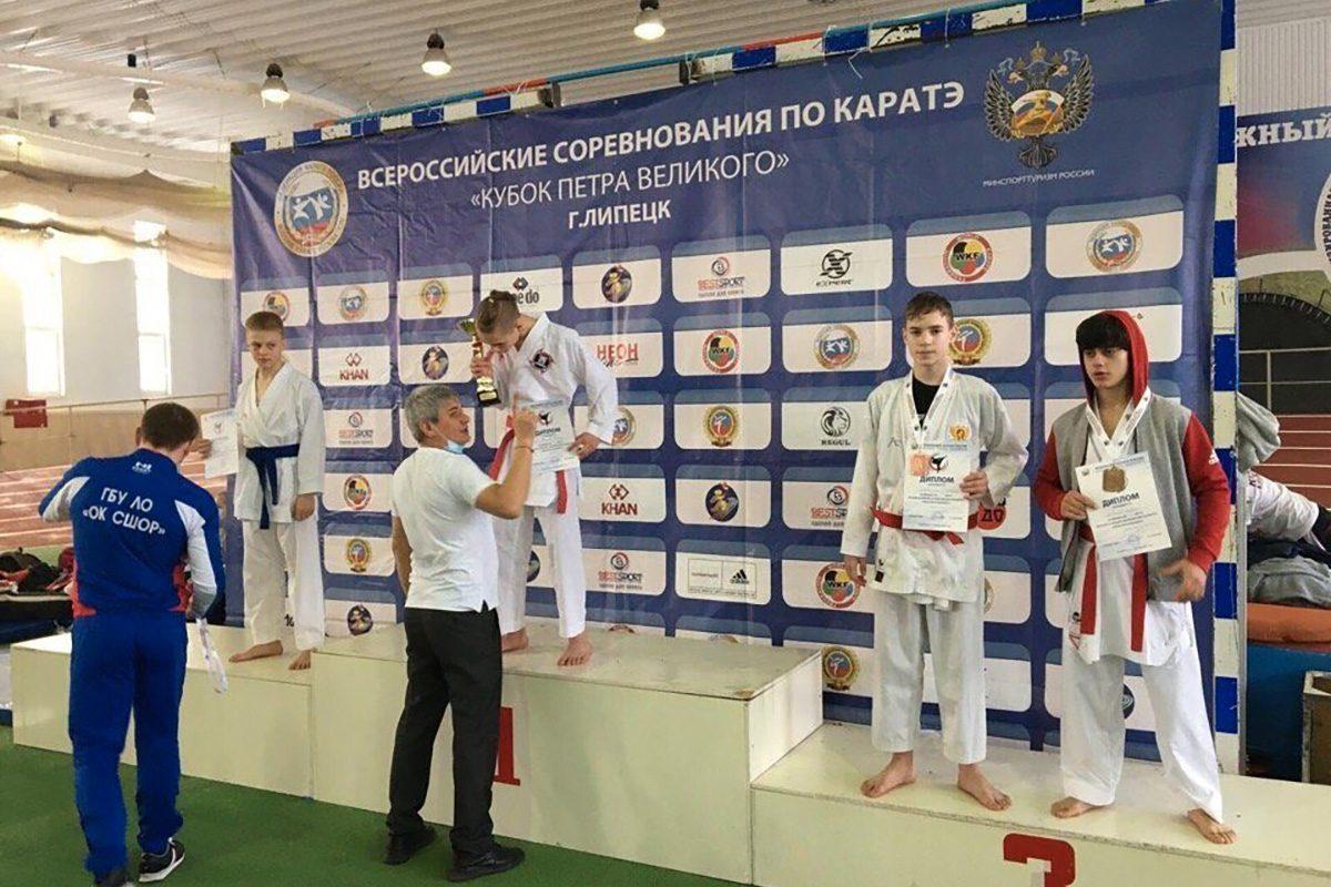 Нижегородские каратисты завоевали три бронзовых медали на Всероссийских соревнованиях