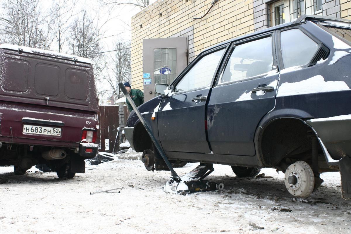 Водитель-нижегородец погиб при взрыве колеса
