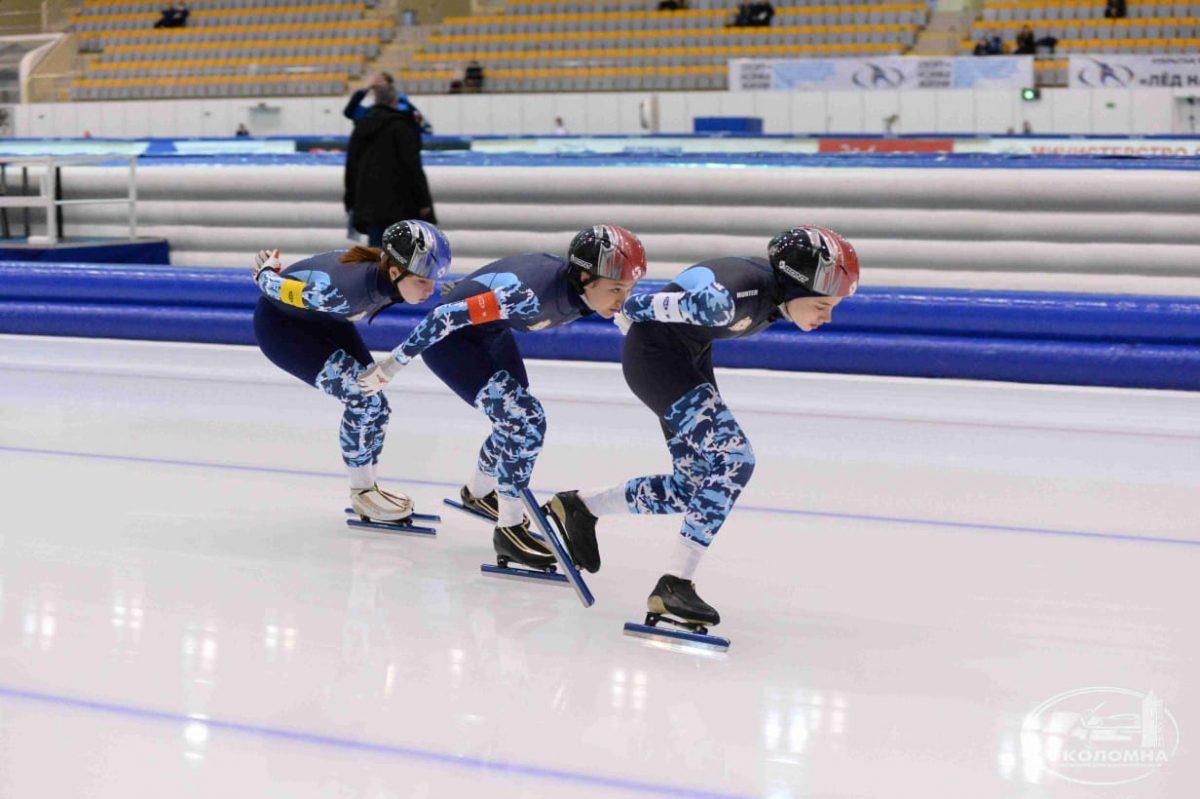 Нижегородские конькобежцы завоевали золотую медаль наПервенстве России