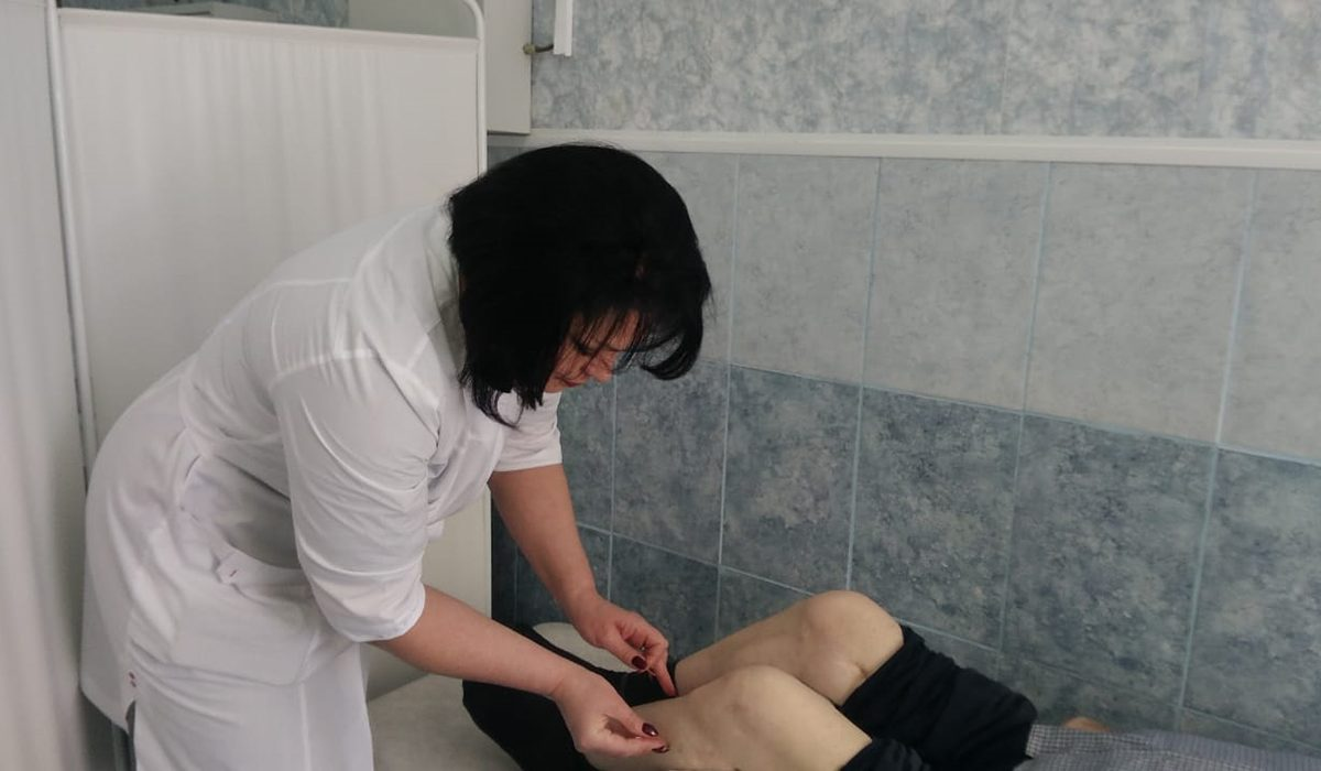 Более 60 пациентов, перенесших коронавирус, прошло реабилитацию в Шатковской ЦРБ